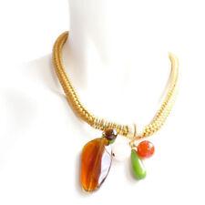 Modeschmuck-Halsketten & -Anhänger aus Stein Achat