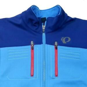 Mens PEARL IZUMI Elite Escape Soft Shell Cycling Jacket - XXL - Blue