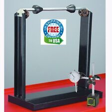 NEW! COMBO ~Motorcycle/Wheel Balancer WITH Dial Indicator-Truing Stand- FREE S/H