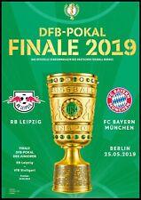 Programm & Aufstellung DFB Pokal Finale 2019 RB Leipzig - Bayern München