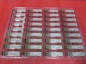Lot of 100 Finisar FTLX8571D3BCL 10GB 10GBASE-SR/SW SFP-10G-SR SFP+ Transceiver