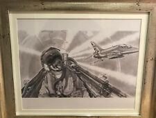 "Red arrows"" from the cockpit""Limited edition print"