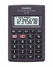 Casio HL-4A Electronic Calculator HL4A Pocket portable basic HL 4A