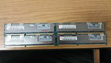 Server RAM 32GB 4x 8GB PC3-10600R ECC Registered DDR3 1333 2Rx4 DIMM Memory LOT