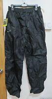 BNWT Mens Gelert Packaway Trousers Waterproof Black Size Medium RRP £24.99