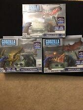 Godzilla Rodan Mothra Ghidorah King Monsters Movie Scene Figure Battle 2019 Sets