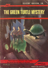 THE GREEN TURTLE MYSTERY Ellery Queen Jr - HAUNTED HOUSE & GHOSTLY LITTLE GIRL
