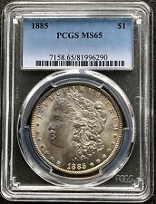 USA 1885 Morgan Dollar PCGS MS65 Silber Philadelphia HIGH GRADE  4269