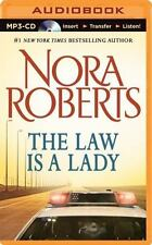 The Law Is a Lady by Nora Roberts (2014, MP3 CD, Unabridged)