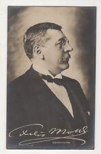 Felix Mottl Austrian Conductor & Composer Vintage RPPC Postcard Music US044