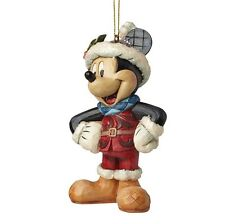 Disney Sugar Coated Mickey Mouse Hanging Figurine Christmas Decoration A28239