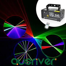 SUNY Laser Light Line Scan Beam Stage Projector Bar DJ Xmas Party Disco RGB400
