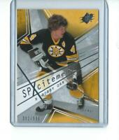 limited BOBBY ORR boston bruins SP XCITEMENT card 382/999