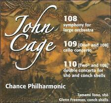 John Cage: 108, 109, 110
