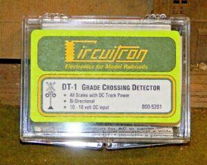 Circuitron #5201 DT-1 Grade Crossing Detector NEW