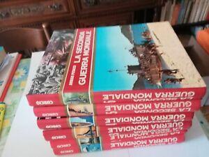 Libri La seconda Guerra Mondiale 6 voll. Edizioni Curcio