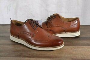 Cole Haan Men's Original Grand Swing Wingtip Oxford Shoe 12 MED Brown C26471