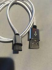 Forte Intrecciato Nylon USB C 3.0 TIPO C sincronizzazione dati cavo di ricarica 1m