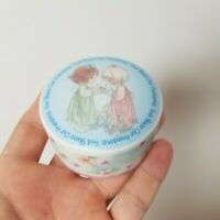 Precious Moments God Bless Our Friendship 1998 Collectible Trinket Box Porcelain