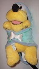 "Assorted small plush -""Disney""- baby Pluto - Disney Babies w/blanket"