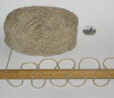 100g Oat Beige Boucle 100% Pure British Breed Wool double knitting dk yarn EF809