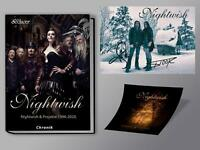 Nightwish Chronik- Hardcover auf 499 Exemplare limitiert + sign. Postkarte  ...