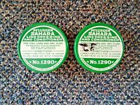 "Vtg.Lot Of 2 Pflueger ,1,"" NOS "" ?,1, Used Sahara Line Dressing And Conditioner"