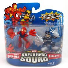 Marvel Super Hero Squad-Ben Reilly Spider-Man & BULLSEYE action figure set