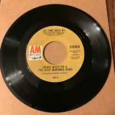 Julius Wechter & The Baja Marima Band As Time Goes By 45 RPM Vinyl VG+
