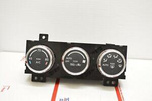 07-13 Suzuki SX4 Climate Control Unit Heater Ac Temperature Hvac CE10#004