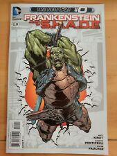 FRANKENSTEIN Agent of SHADE #0 (2012 The New 52, DC Comics) VF/NM Book