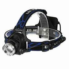 Cree AA Camping & Hiking Head Torches with Adjustable Focus