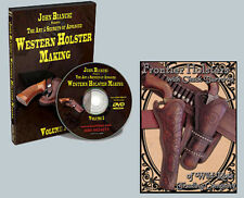 Frontier & Western Holster Construction (2 DVD Set) with J. Bianchi & C. Burrows