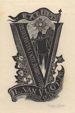 Ex Libris Cor de Wolff : Opus 75c, L. van Vught Pr.