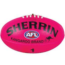Sherrin KB Synthetic AFL Football Pink Size 4