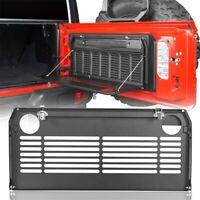 Rear Door Foldable Tailgate Table Cargo Shelf Steel for Fit Jeep Wrangler JL 18+