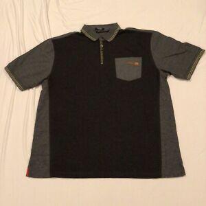 McDonalds Employee Uniform Grey Unisex S-R Polo Work Shirt Timeless Elements XL