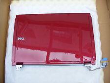 NUOVO Dell f115g Latitude E4200 ROSSO LCD Cover posteriore con cerniere.