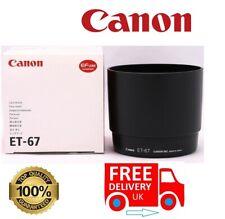 Canon ET-67 Lens Hood for Canon EF 100mm F/2.8 Macro USM Lens (UK Stock)