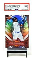 2019 Bowman Chrome RC Refractive Blue Jays VLADIMIR GUERRERO Rookie Card PSA 9