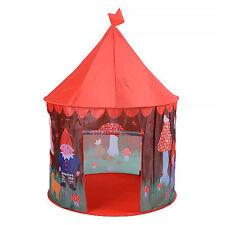 Gnomes Mushroom Pop Up Indoor / Outdoor Boy's Play Tent Playhouse Den Garden NEW