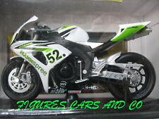 MOTO  GP 1/18  HONDA CBR 1000 RR 2007 JAMES TOSELAND TEAM HANNSPREE SOLIDO BOITE
