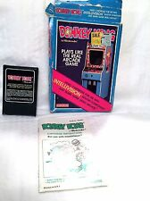 Donkey Kong Intellivision Video Game With Box Instruction Mattel 1982