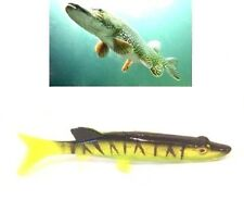 Pike Predator Paddle Tail Shad Lure Pike Perch Zander Predator Lure Fishing Bait