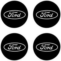 Fits FORD Wheel Center Cap Vinyl Decal Stickers (Custom Sizes Available!)