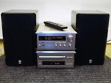 Yamaha Pianocraft Kompaktanlage Receiver, CD-Spieler und 2x Boxen und Fernbed.