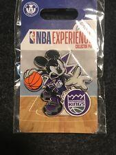 Disney Pin DS Mickey Mouse NBA Experience Basketball Uniform Sacramento Kings