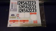 1/20 Lotus 72C Tobacco & Sponsors Decal for Ebbro E.Fittipaldi Jochen Rindt