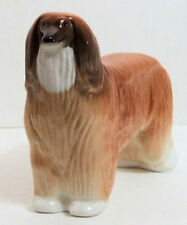 LOMONOSOV PORCELAIN ANIMAL FIGURINE OF A AFGHAN HOUND