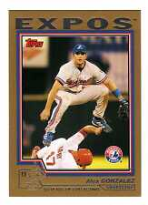 2004 Topps Traded Gold Parallel Insert Set Lot (186 Different) - Pick Any 1
